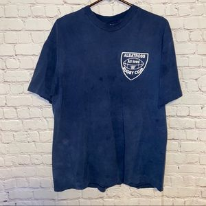 Vintage 1988 single stitch rugby no pain Tee SZ XL